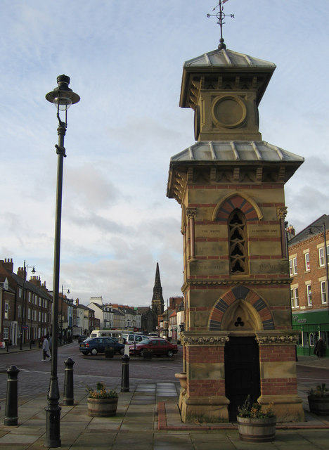 Clock Tower, Front Street