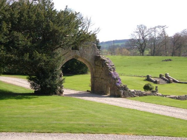 Hartforth Hall arch