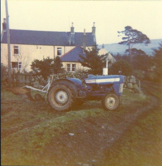Meikle Creoch Farm c.1974