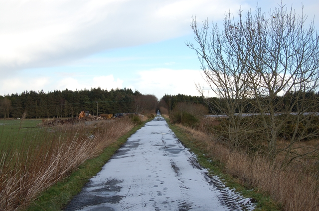 Formartine and Buchan Way at Logierieve
