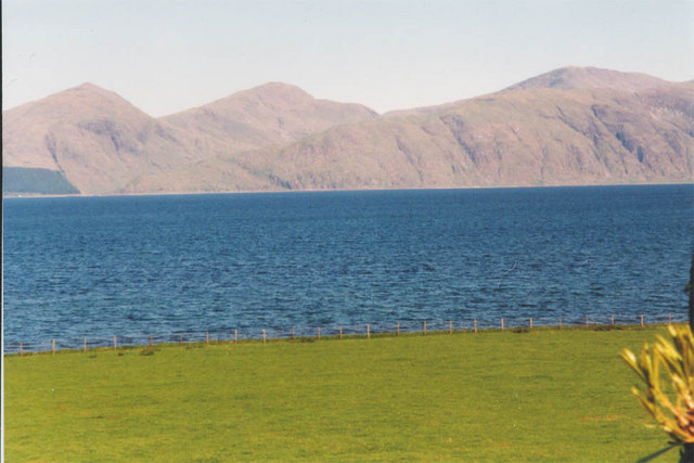 From Ardtur looking over Loch Linnhe