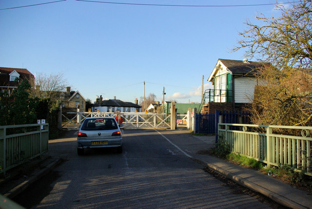 Wateringbury Level Crossing