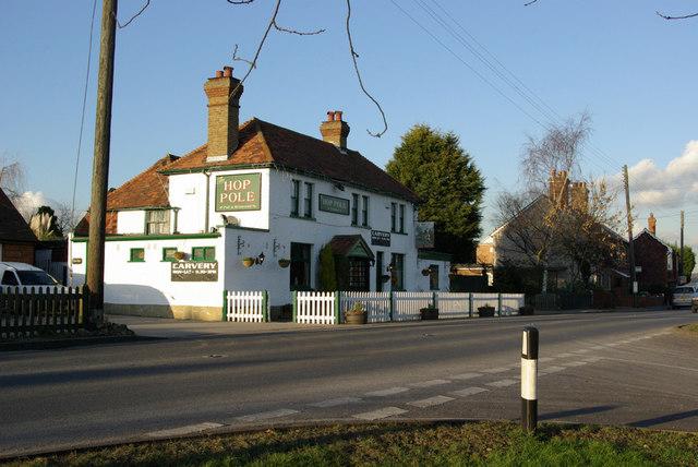 The Hop Pole, Nettlestead Green
