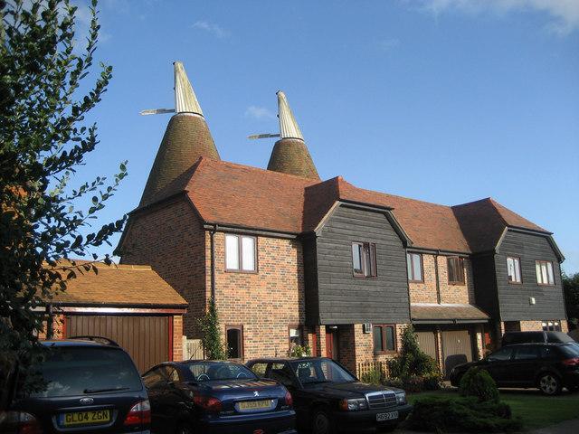 Oast House at Fuggles, Hale Court, East Peckham, Kent