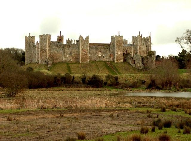 Framlingham Castle, looking southeast