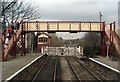 SD7916 : Ramsbottom Signal Box and Level X'ing by Wilson Adams