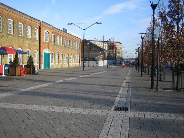 Woolwich: Duke of Wellington Avenue