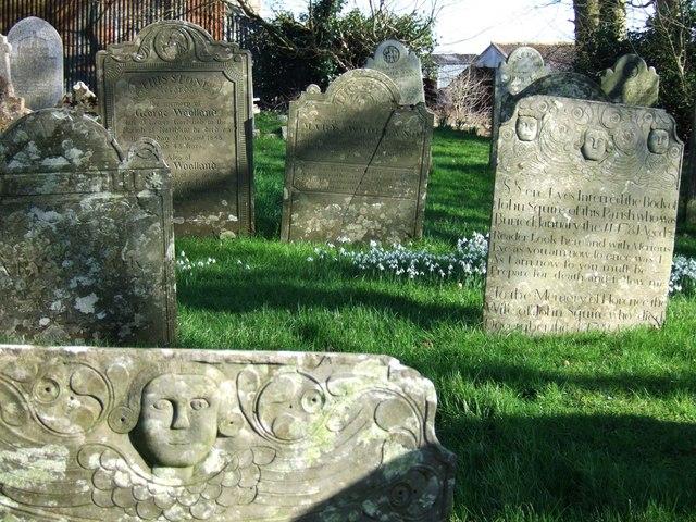 Gravestones at Inwardleigh