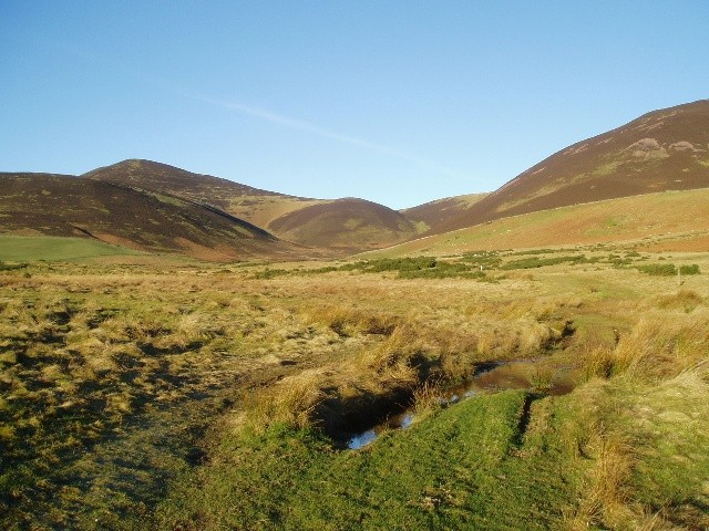 The Pentland Hills near Silverburn