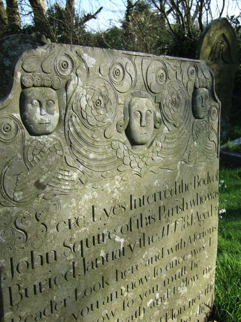 John Squire's gravestone