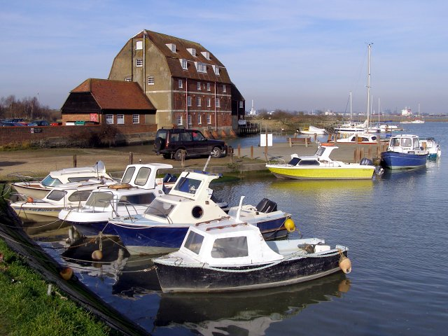 Victoria Quay and Ashlett Mill