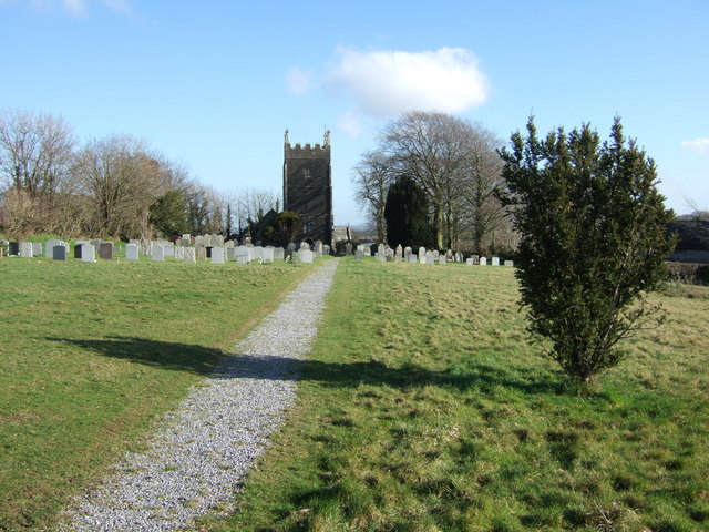 Churchyard,  Inwardleigh