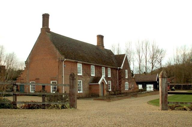 Farmhouse at Grove Farm
