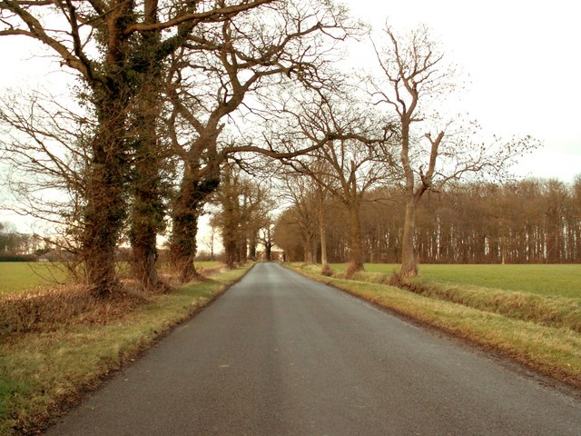 Dark Lane, close to Easton Park