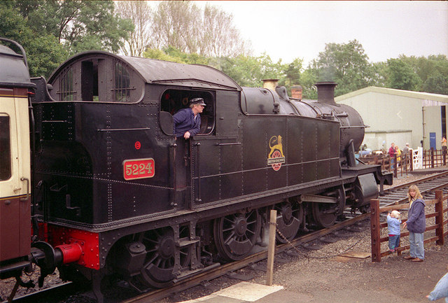 5224 at Quorn on the GCR Railway