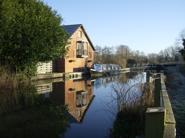 Southcote Mill and Lock