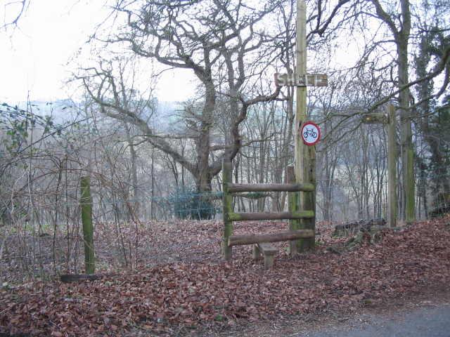 Macmillan Way footpath