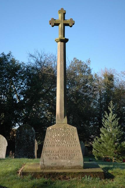The War Memorial, Birley