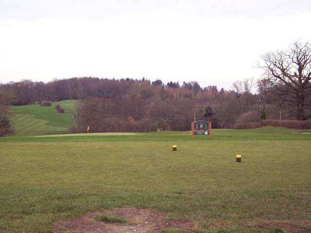 1st Tee at Hamptworth Golf Course