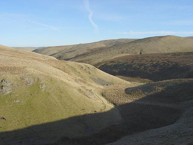 Dry valley, Glen Devon