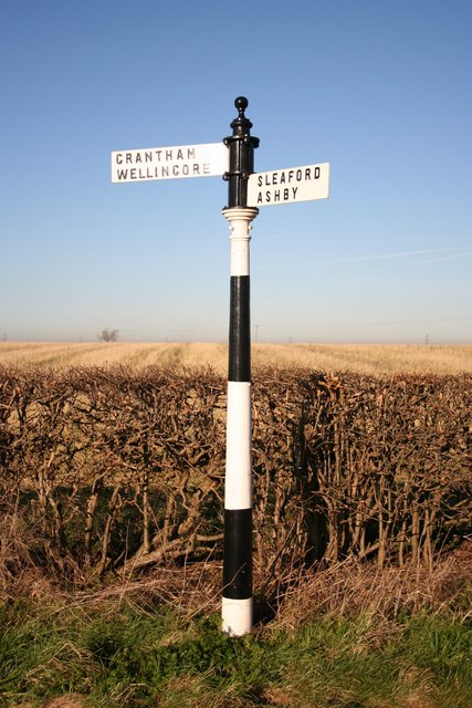 Gorse Hill Lane fingerpost
