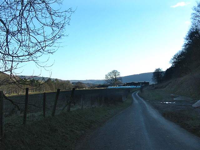 Under Hawnby Hill looking towards Long Acres Farm