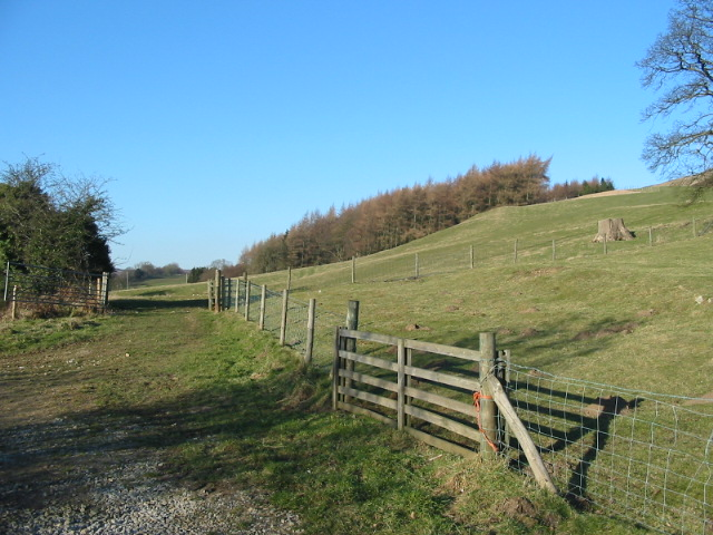 View north from just off Easterside Lane