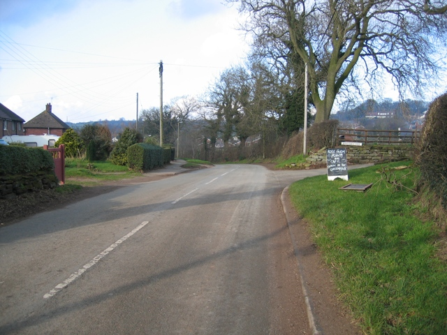 Utkinton from the South
