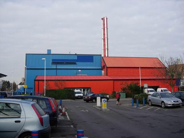 Southampton geothermal plant