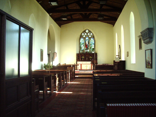 Interior of St Thomas Church, Selside, Kendal