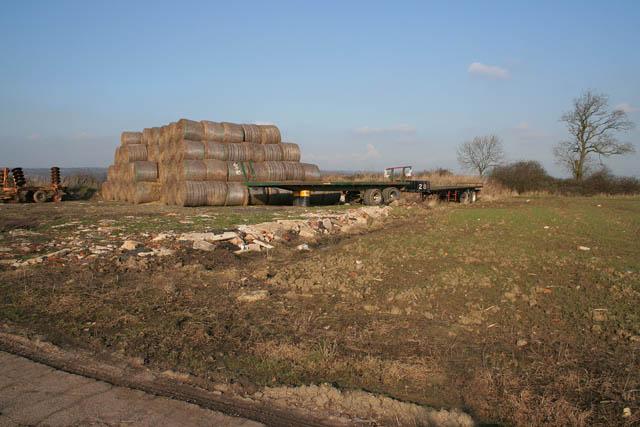 Farm storage area
