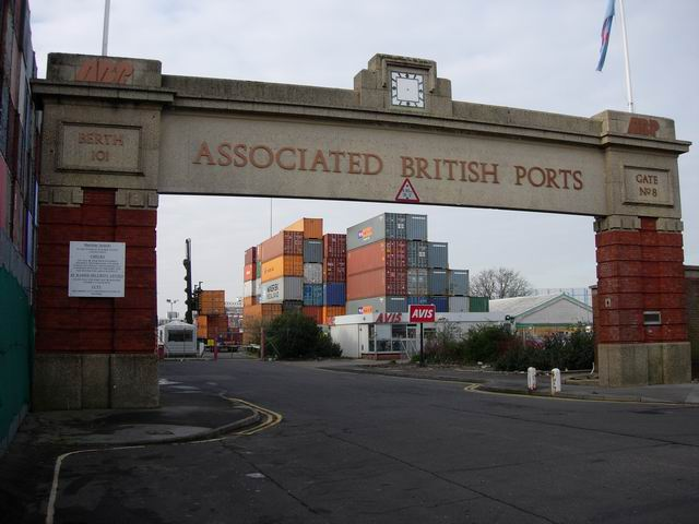 Dock gate 8