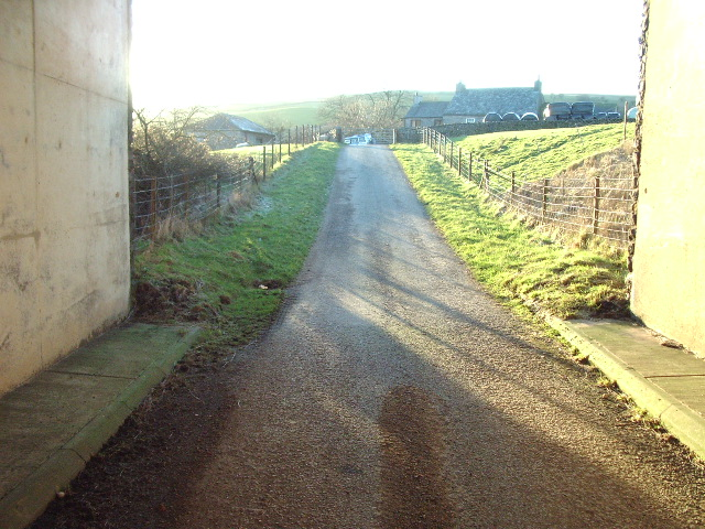 The Road to Lambrigg Park Farm