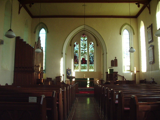 Interior of St John the Evangelist Church Grayrigg