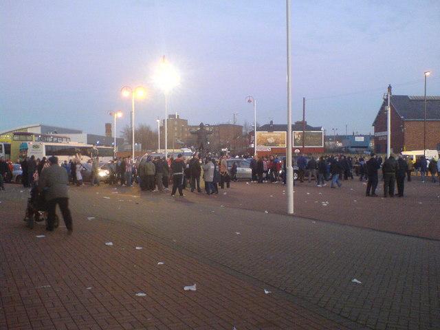 Outside the Stadium of Light, Sunderland