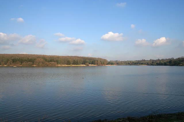Looking towards the northeast arm of Thornton Reservoir