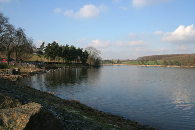 From the dam at Thornton Reservoir