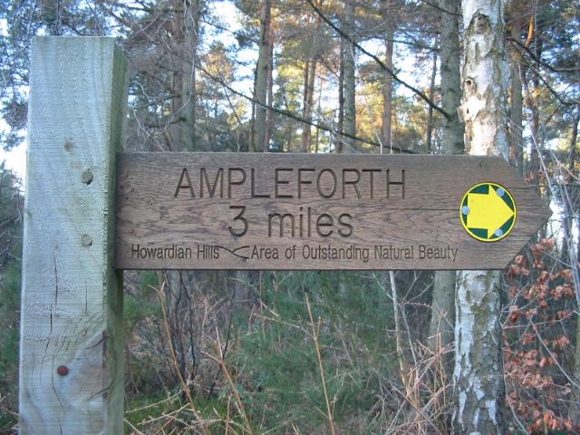 Fingerpost on Yearsley Moor