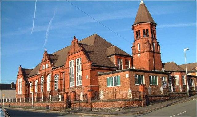 Moorpark Junior School, Park Road, Burslem