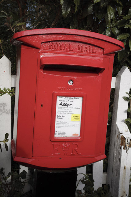 Post Box, Waresley, Cambridgeshire