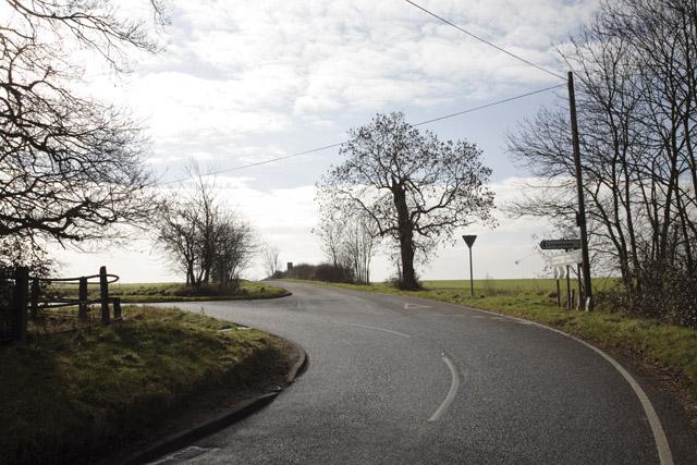 B1046, Little Gransden, Cambridgeshire