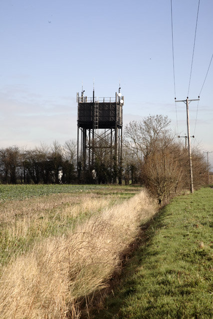 Water Tower, Longstowe, Cambridgeshire
