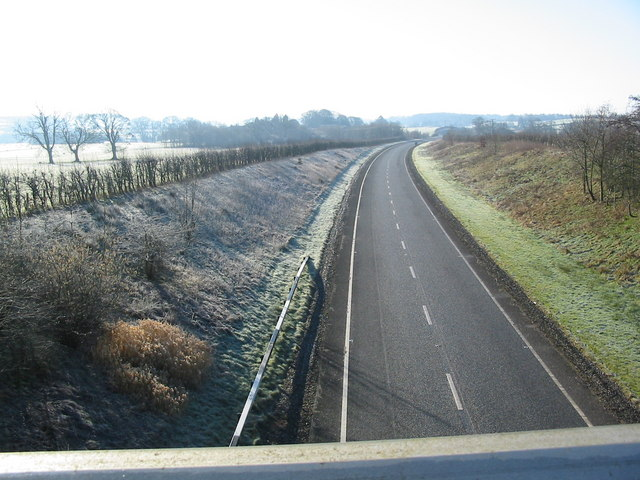 Southern end of Canonbie bypass