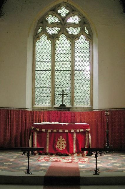 St Mary, Hardmead, Bucks - Sanctuary