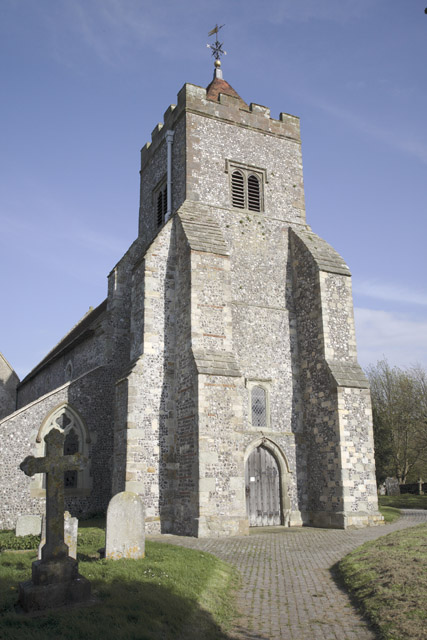 Church Tower, Firle, East Sussex