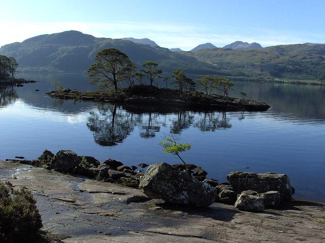 From Garbh Eilean, Loch Maree