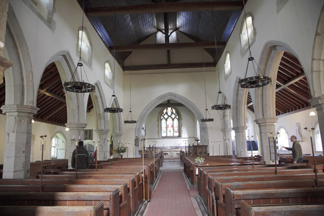 Church Interior, Firle, East Sussex