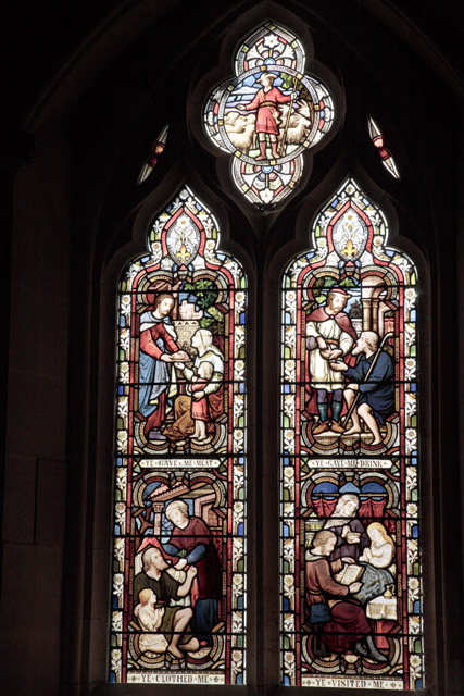 Stained Glass Window, Church, Firle, East Sussex