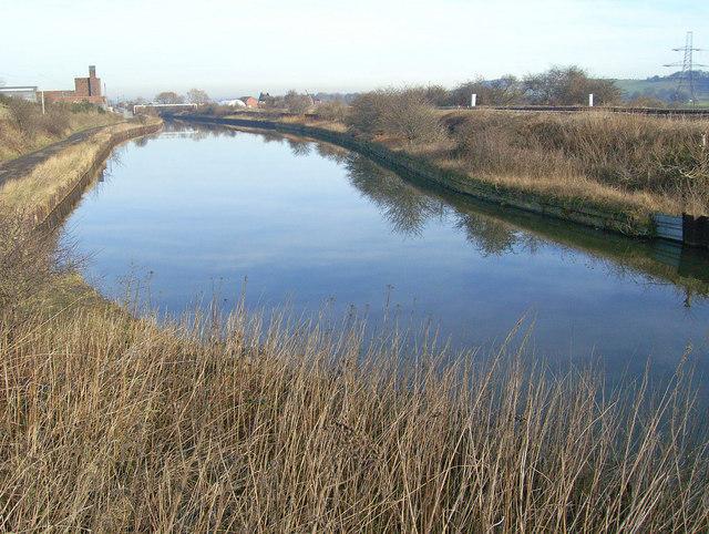 South Yorkshire Canal south of Kilnhurst Bridge