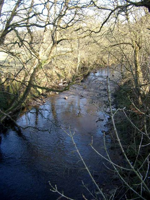 The River Nethan at Auchlochan
